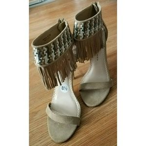 Chinese Laundry Shoes - 💜 SPRING SALE 💜 Sexy Suede & Fringe High Heels