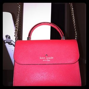 Red Authentic Kate Spade satchel