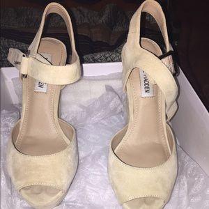 Suade high heels