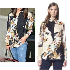 """BNWOT 3.1 Phillip Lim Target """"Floral Paper"""" blouse"""