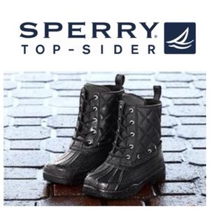 NEW!  Sperry quilted 'Gosling' waterproof boots