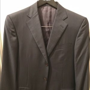 Ermenegildo Zegna Other - Zegna three button pinstripe suit jacket