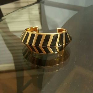 Vince Camuto Jewelry - Vince Camuto Black/Gold Bangle