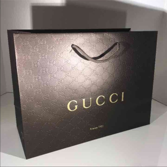 a75f63b47be Gucci Other - 🌺100% Authentic Gucci Boutique paper bag 🎉