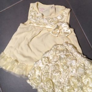 Nanette Baby Other - Easter Dress-Yellow Baby Dress w/ Ruffle Bloomers