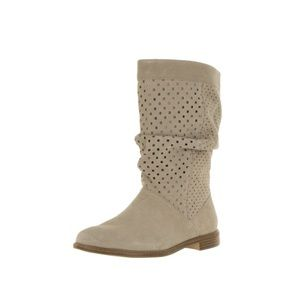 TOMS Shoes - Toms serra oxford tan mid calf perforated boot