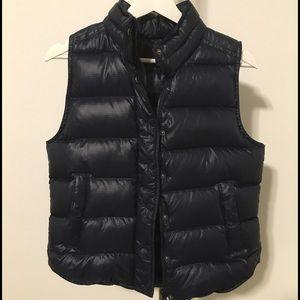 J.Crew Factory Other - J. CREW: Navy blue puffer vest.