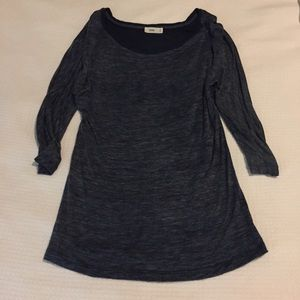 Closed Tops - navy heather top