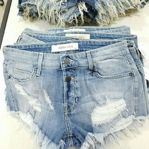 Brand new! Hidden Jeans cutoff shorts