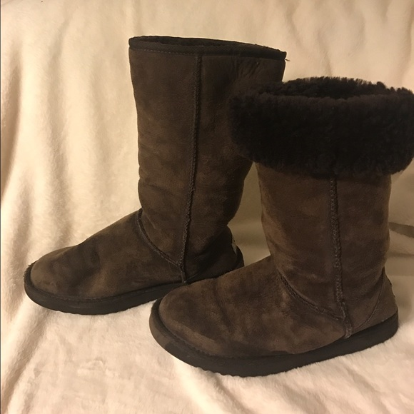 ugg boots brown tall - photo #38