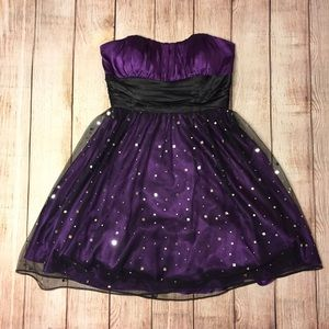 Blondie Nites Dresses & Skirts - Purple dress