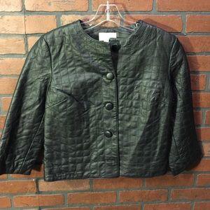 Black Spiegel Leather Jacket