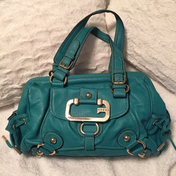 94bbcd88ac04 Guess Handbags - Guess turquoise bag