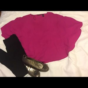 ****REDUCED***Sheer Pink Blouse