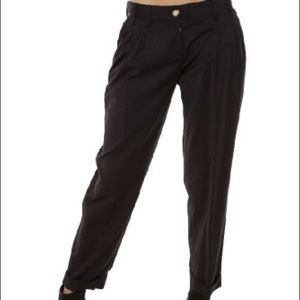 Dolce & Gabbana Pants - Dolce & Gabbana Black Straight Embellished Pants