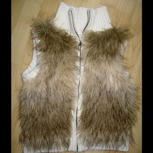 Justice Other - Girls Justice faux fur sweater vest