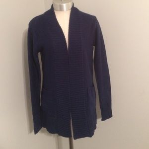 Ambiance Apparel Sweaters - 🚛MOVING SALE🚛NWT Navy Cardigan with pockets