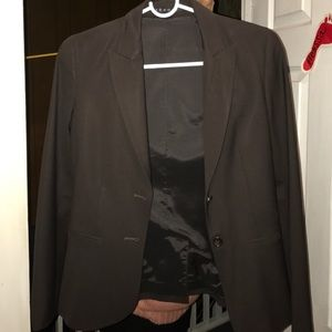 THEORY DARK BROWN BLAZER