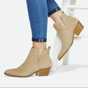 NEW JustFab Booties