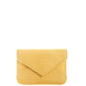 Handbags - Brand New Mini Envelope Coin Purse Wallet - Yellow
