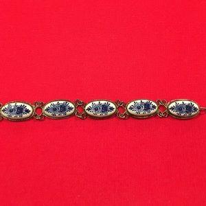 Delft China bracelet
