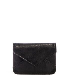 Handbags - Brand New Mini Envelope Coin Purse Wallet in Black