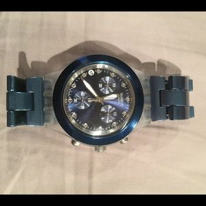 Swatch Accessories - Swatch Full Blooded Blue watch