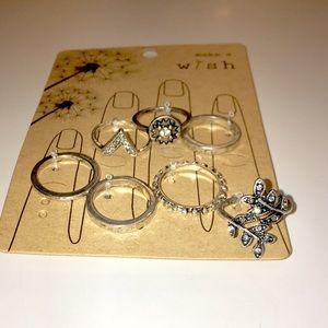 Jewelry - Multi Silver Rings