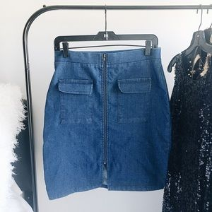 Charlotte Russe Dresses & Skirts - ✨HP✨ Denim Skirt