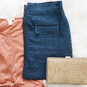 Charlotte Russe Dresses & Skirts - ✨HP✨ Denim Skirt