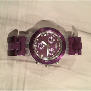 Swatch Accessories - Swatch Full Blooded Purple watch