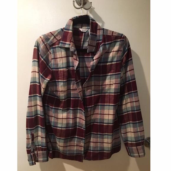 40 Off Woolrich Tops Woolrich Flannel Shirt Like New