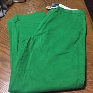 NWT Polo by Ralph Lauren green men's pant