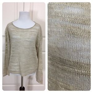 NWT! Eileen Fisher Natural sweater