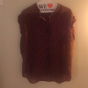 Madewell Tops - Madewell Patterned Blouse