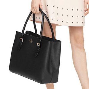 kate spade Handbags - Kate Spade Black Cove Street Ariel Leather Handbag