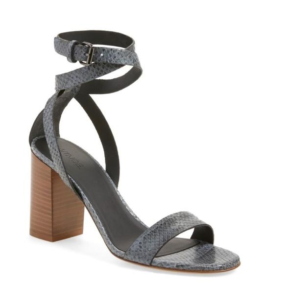 3a5c393caa58 Vince Farley Block Heel Sandal