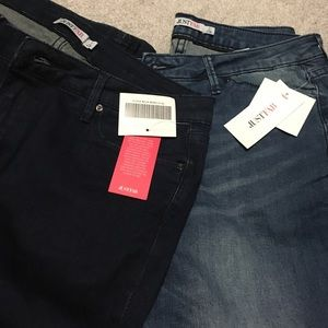 2 pair NWT just fab jeans