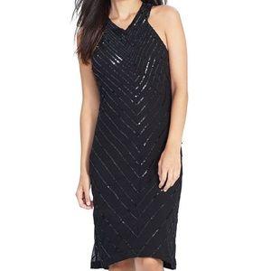 Lauren Ralph Lauren Dresses & Skirts - Lauren Ralph Lauren Black Sequin A Line Dress