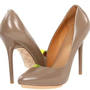 L.A.M.B. Shoes - L.A.M.B. Tan/Neon Pump Heel