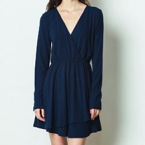 Love Riche Dresses & Skirts - Navy wrap dress