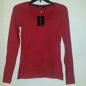 Energie Tops - *NWT* Long sleeve shimmer top