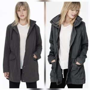 James Perse Jackets & Blazers - James Perse Dark Gray Anorak Utility Jacket