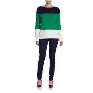 Equipment Sweaters - Equipment Color Block Josephine Sweater