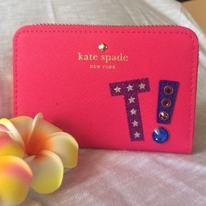 "kate spade Handbags - Kate Spade Cassidy letter ""T"" wallet"
