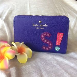 "kate spade Handbags - Kate Spade Cassidy letter ""S"" wallet"
