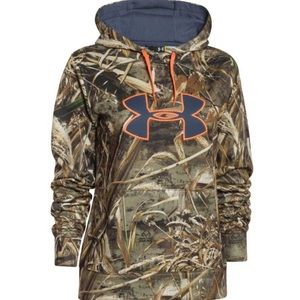 Under armor realtree pull over hoodie