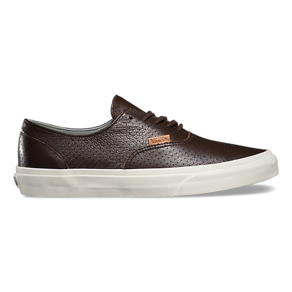 46133a41c1 Vans Era Decon + Embossed Leather Seal Browns