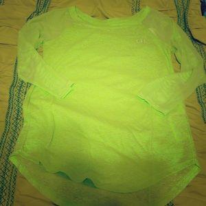 Gilly Hicks Tops - Lime green shirt