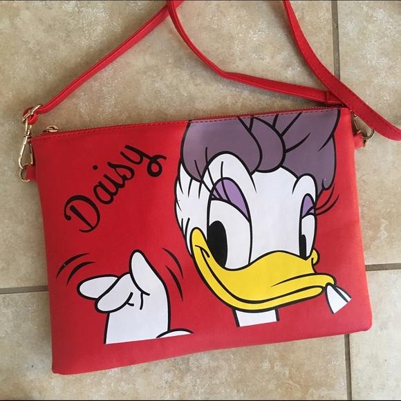Disney Bags Daisy Duck Purse Crossbody Nwot Poshmark